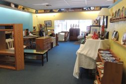 The salvation army thrift store interior