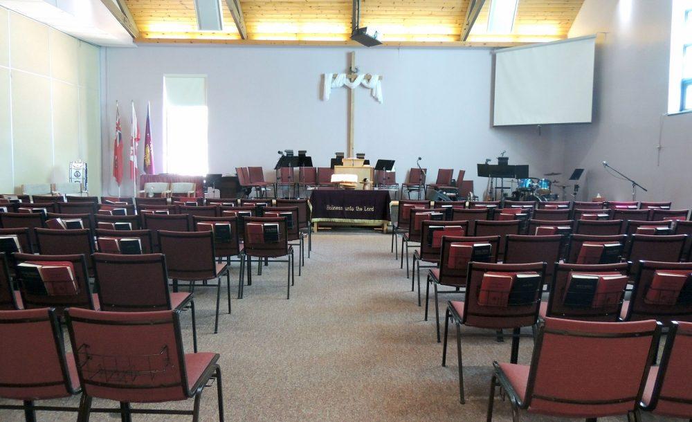 The Salvation Army Huntsville Church Interior
