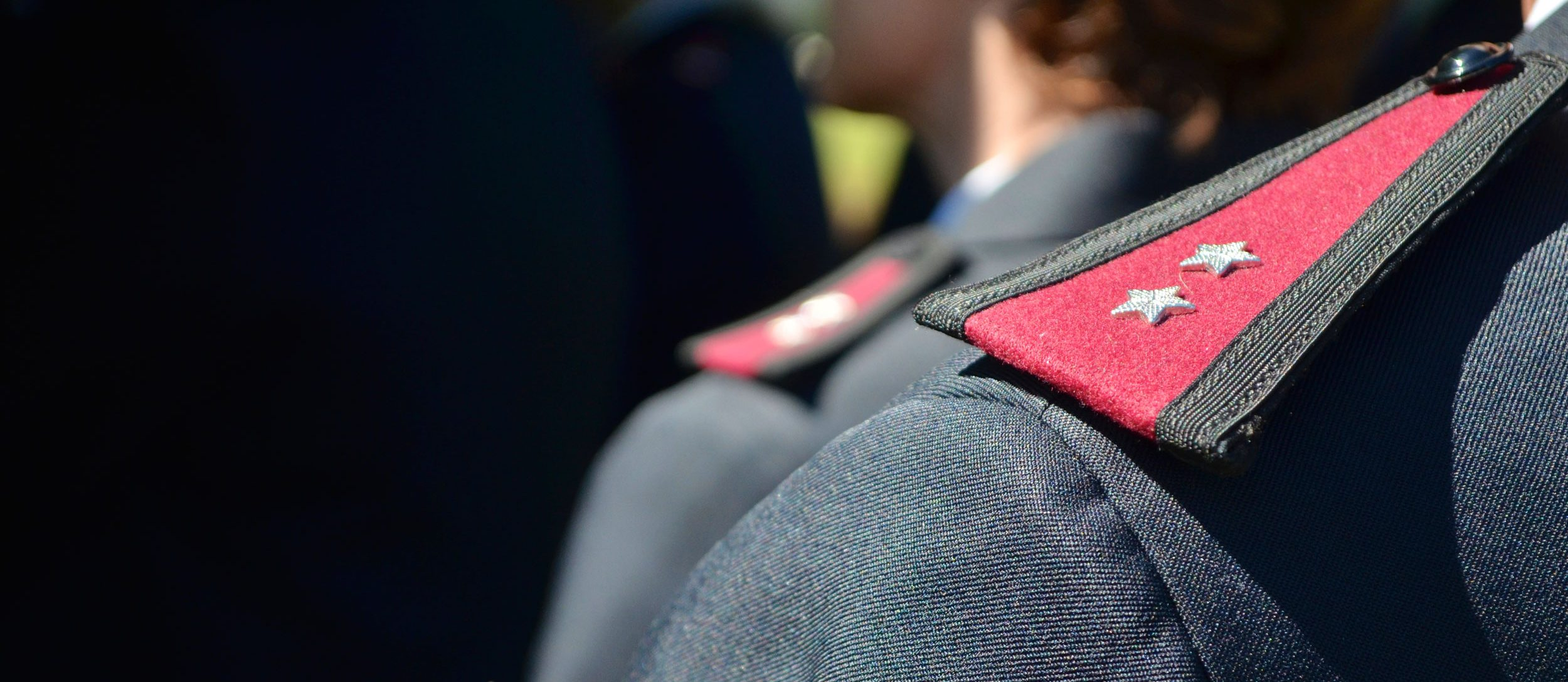 The Salvation Army Officer Uniform Stars on Shoulder